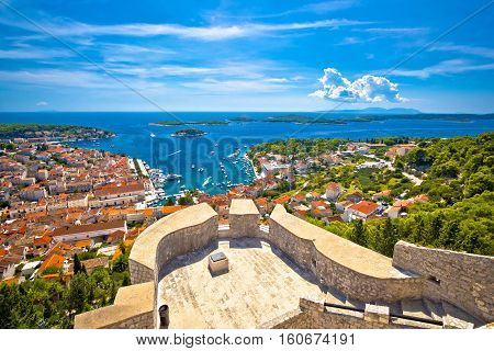 Island Of Hvar And Paklinski Islands View