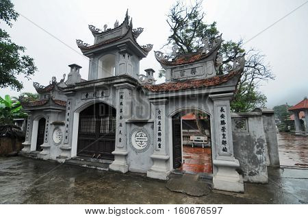 Entry Of A Buddist Vietnam Temple