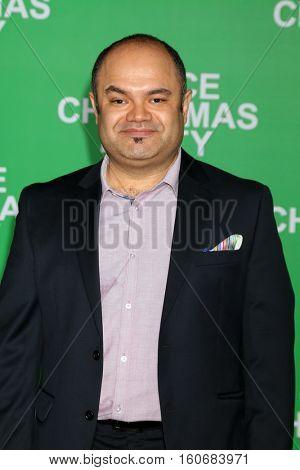 LOS ANGELES - DEC 7:  Erick Chavarria at the