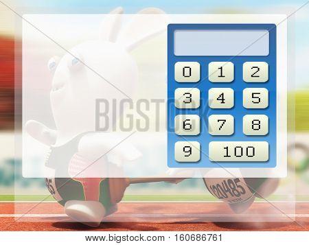 calculadora, calculo, conta, numeros, mas, menos, impar