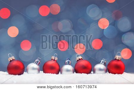 Christmas background. Artistic style - Happy new year background