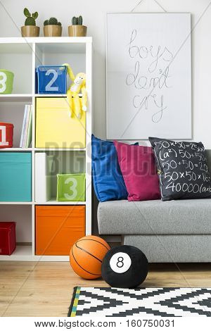 Colourful Room With Toys