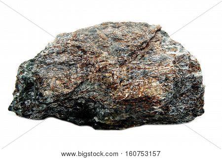 astrophyllite gem semigem geode crystals geological mineral isolated