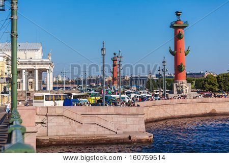 Stock Exchange And Rostral Columns