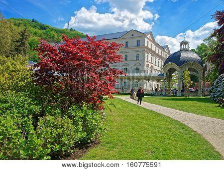 Park Colonnade At Karlovy Vary