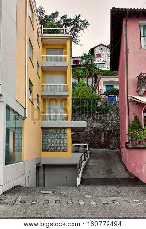 House In Expensive Resort In Ascona In Swiss