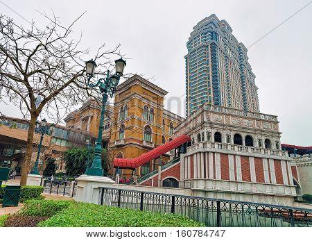 Venetian Macao Casino And Hotel Luxury Resort