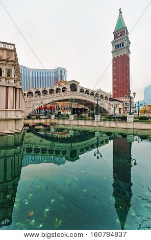 Venetian Macau Casino And Hotel Luxury Resort In China Macao