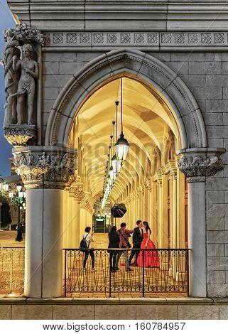 Сolonnade At Venetian Macao Casio And Hotel Luxury Resort Macau