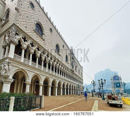 Venetian Macao Casino And Resort In China