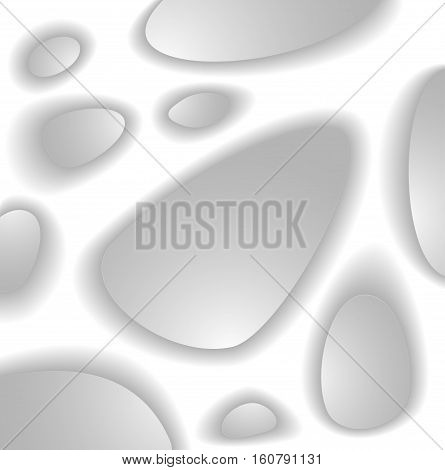 Abstract background for biological or medicine or scientific theme from organic structure in white grey colors for template  brochure or flyer or  banner or for web site