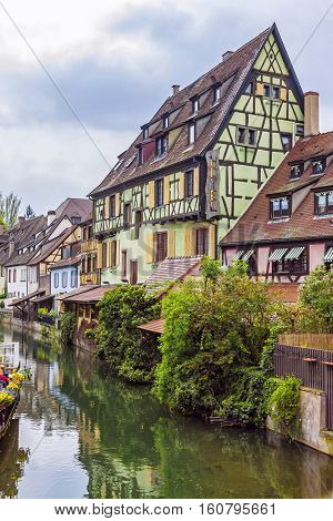 Beautiful View Of Historic Town Of Colmar, Alsace Region, France