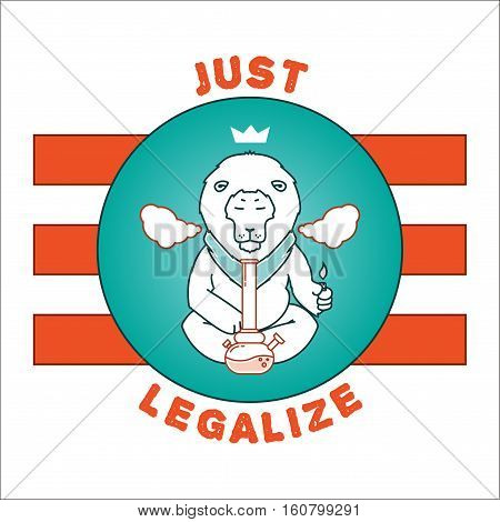 Vector Poster - Just Legalize 16