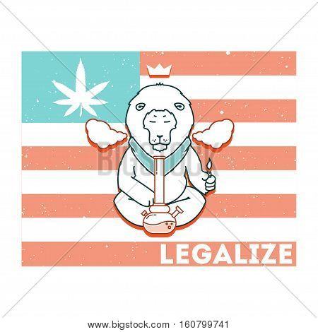 Vector Poster - Just Legalize 13