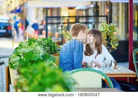 Young Romantic Couple Having A Date