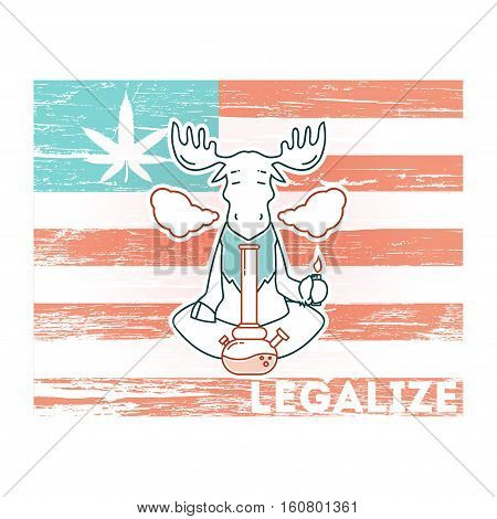Vector Poster - Just Legalize 4