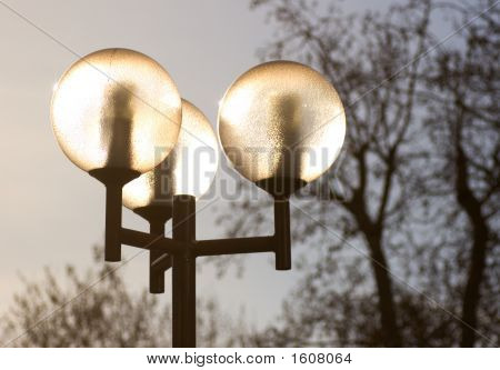 Lampadaire In Paris