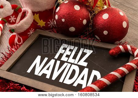 Merry Christmas (in Spanish)