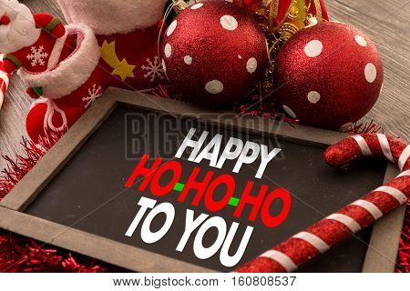 Happy Ho-Ho-Ho To You