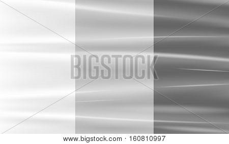 a real transparent plastic warp background vector
