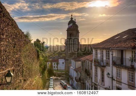 Belltowers of the Monastery of St. Francis Santiago de Compostela