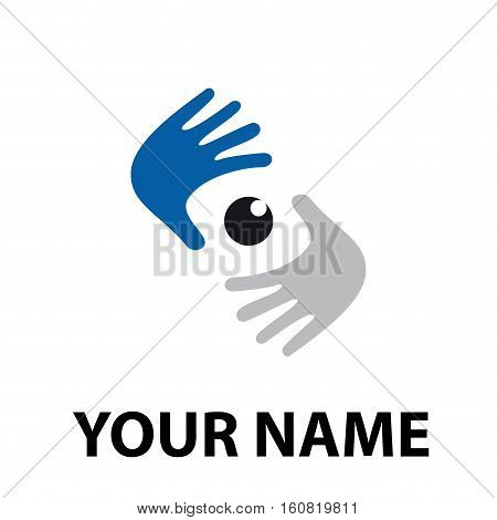 Vector sign look image photographer, isolated illustration
