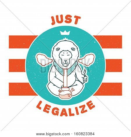Vector Poster - Just Legalize 15