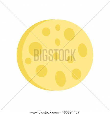 Sponge isolated on white. Refreshing facial wash sponge. Essentials face sponge helps to exfoliates your face. Makes skin soft, supple and glowing. Cosmetics. Part of series of face care. Vector