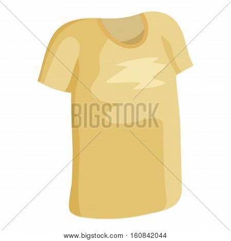 Tshirt icon. Cartoon illustration of Tshirt vector icon for web