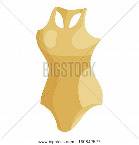 Bodysuit icon. Cartoon illustration of bodysuit vector icon for web