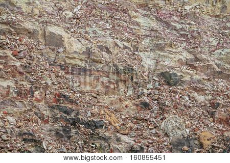 Stone cliff mountain texture surface precipice of the rock background.