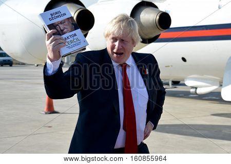 Belgrade, Serbia. November 11Th 2016 - Boris Johnson, Secretary Of State For Foreign And Commonwealt