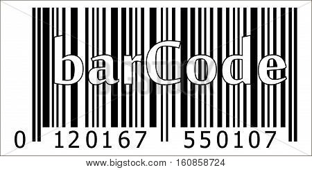 product bar code, encrypted item name manufacturer country, vector barcode