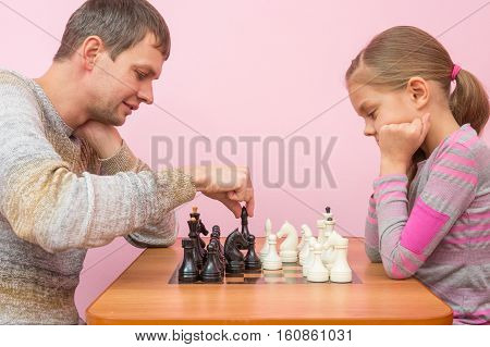 Pope Makes His Next Move While Playing Chess With His Daughter