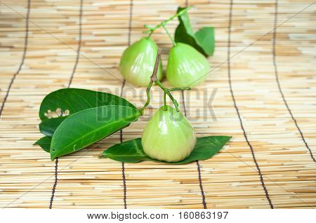 Rose apple, sweet Fruit. - stock photo