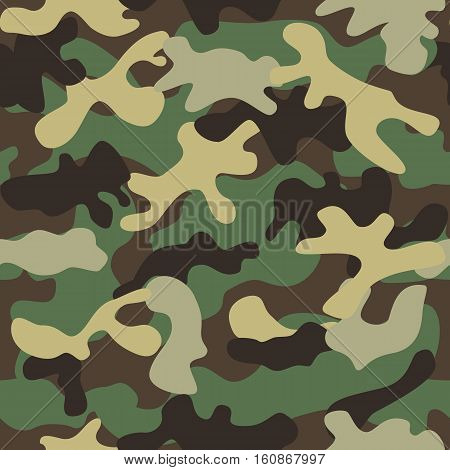 Camouflage seamless pattern. Camouflage backgrund pattern icon vector illustration design
