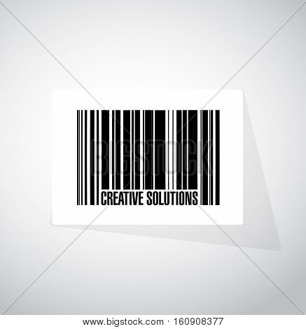 Creative Solutions Barcode Sign Concept