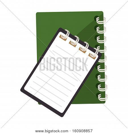 office documents isolated icons vector illustration design