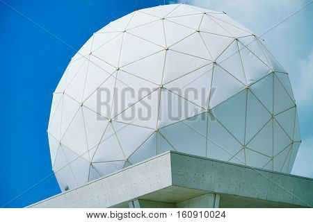 PVC Geodesic Dome with Blue sky at the background