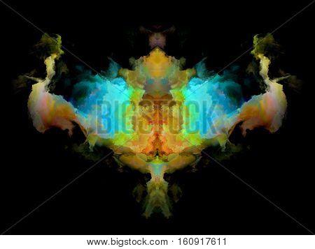 Color Rorschach Test Pattern