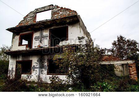 Bosnian Abandoned House