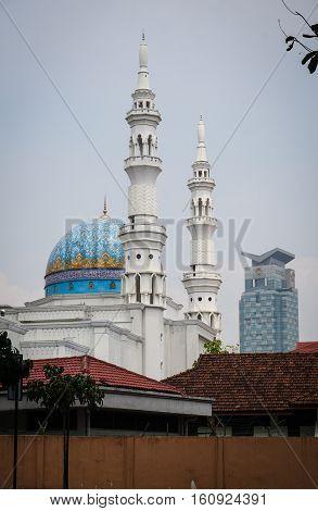 Federal Territory Mosque In Kuala Lumpur