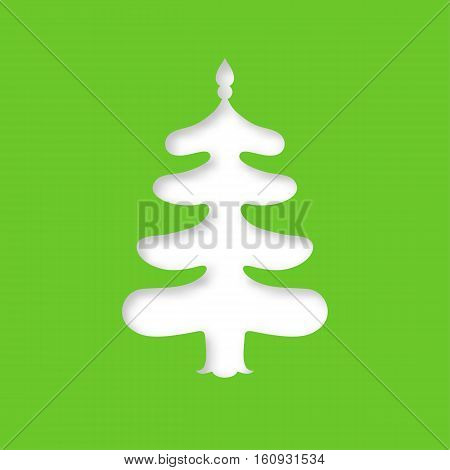 Christmas Tree. Laser Cutting Template
