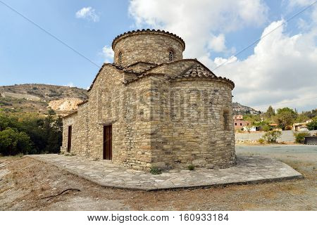 Cyprus Kato Lefkara. Saint Michael the Archangel Church.