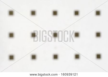 Background with blurred broun squares