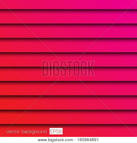 Bright pink red color background texture jalousie illustration