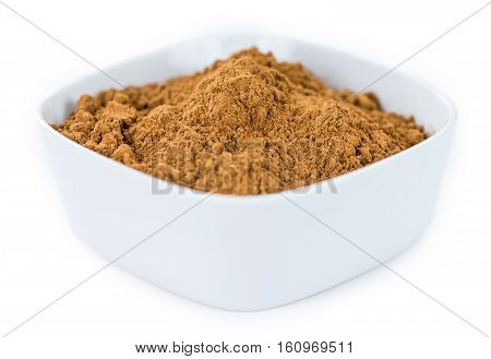 Cinnamon Isolated On White