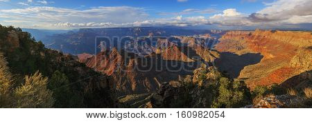 Beautiful View Of Grand Canyon From South Rim, Arizona, United States