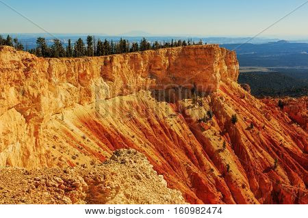 Awesome Rock Formation. Hoodoos In Bryce Canyon National Park. Utah, United States