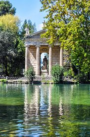 Hdr Villa Borghese, Rome